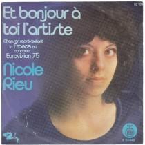 Rieu Nicole - Et Bonjour A Toi Lartiste/la Mandarine