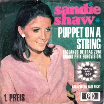 Shaw Sandie - Puppet On A String/had A Dream Last Night