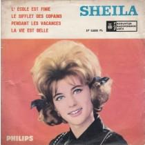 Sheila - Lecole Est Finie/le Sifflet Des Copains/pendant Les Vacances/la Vie Est Belle