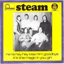Steam - Na Na Hey Hey Kiss Him Goodbye/its The Magic In You Girl