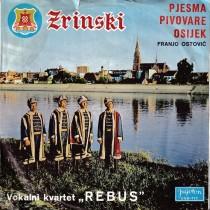 Volkani Kvartet Rebus - Pjesma Pivovare Osijek/zrinsko Frankopanka