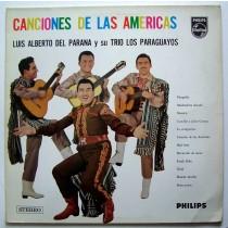Del Parana Luis Alberto Y Su Trio Los Paraguayos - Canciones De Las Americas