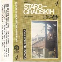Various Artists - Izbor Starogradskih Pesama 4 - Ponoć Je Tako Tiha