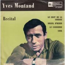 Montand Yves - Recital - Le Chat De La Voisine/soleil Dacier/le Carrosse/voir