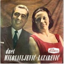 Duet Milosavljevic - Lazarevic - Mili Cigancicu/vidite Li Selo Malo/ova Slika Mala/suknjica Na Vetru