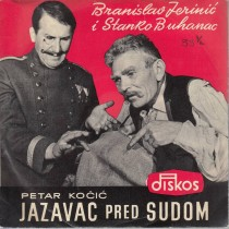Buhanac Stanko Branislav Jerenic - Petar Kocic - Jazavac Pred Sudom
