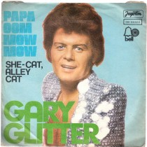 Glitter Gary - Papa Oom Mow Mow/she-Cat Alley Cat