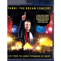 Yanni - The Dream Concert - Live From The Great Pyramids Of Egypt - Blu-Ray Disc - Yanni
