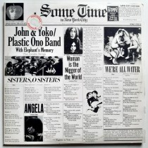 Lennon John Yoko Plastic Ono Band Frank Zappa - Some Time In New York City