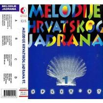 Various Artists - Split 1997 - Melodije Hrvatskog Jadrana 1 - Dupla Kazeta