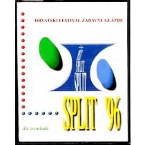 Various Artists - Split 1996 - Hrvatski Festival Zabavne Glazbe - Đir Za Mlade - Dupla Kazeta