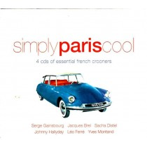 Various Artists - Simply Paris Cool - 4 Cds Of Essential French Crooners