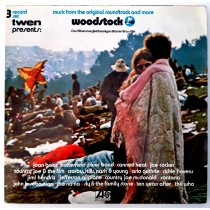 Various Artists - Woodstock Jimi Hendrix Canned Heat Jefferson Airplane Santana Etc
