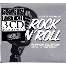 Various Artists - Rock N Rll Platinum Collection - 3 Cd - Best Of Rock And Roll