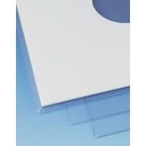 """VANJSKI OMOT ZA 12 """" PLOČU - KRISTALNO PROZIRNI  Materijal: PVC, 180 mikrona Dimenzije: 325 x 325 mm"""