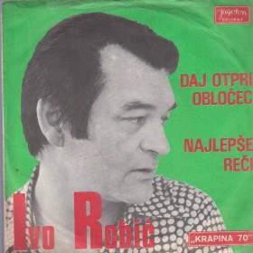 Robic Ivo - Daj Otpri Oblocec/najlepse Reci