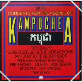 Various Artists - Concerts For The People Of Kampuchea Clash/costello/dury Etc